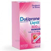 Dolipraneliquiz 300 mg Suspension buvable en sachet sans sucre édulcorée au maltitol liquide et au sorbitol B/12 à Trelissac