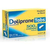 DOLIPRANETABS 500 mg Comprimés pelliculés Plq/16 à Trelissac