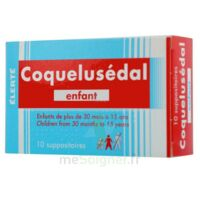 COQUELUSEDAL ENFANTS, suppositoire à Trelissac