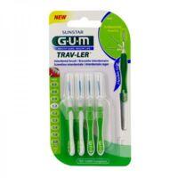 Gum Trav - Ler, 1,1 Mm, Manche Vert , Blister 4 à Trelissac