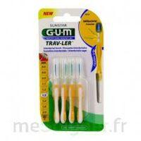 Gum Trav - Ler, 1,3 Mm, Manche Jaune , Blister 4 à Trelissac