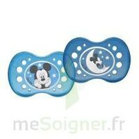 Sucette Dodie Anatomique Silicone Mickey 18 Mois + X 2 à Trelissac