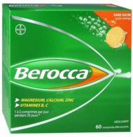 Berocca Comprimés effervescents sans sucre T/60 à Trelissac