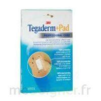 Tegaderm + Pad, 5 Cm X 7 Cm , Bt 10