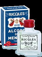 Ricqles 80° Alcool de menthe 30ml à Trelissac