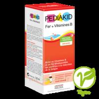 Pédiakid Fer + Vitamines B Sirop banane 125ml à Trelissac