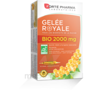 Forte Pharma Gelée royale bio 2000 mg Solution buvable 20 Ampoules/15ml à Trelissac