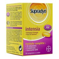 Supradyn Intensia Comprimés B/30 à Trelissac