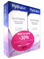 Hydralin Quotidien Gel lavant usage intime 2*200ml à Trelissac