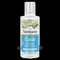Natessance Huile Coco Bio 100% Pure 100ml à Trelissac