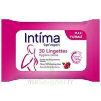 Intima Gyn'Expert Lingettes Cranberry Paquet/30 à Trelissac
