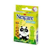 Nexcare Sensitive Soft Happy Kids Pansements Microporeux Animaux 2 Tailles B/20 à Trelissac