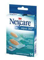 Nexcare Aqua 360° Pansements 3 tailles B/14
