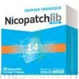 NICOPATCHLIB 14 mg/24 h Dispositifs transdermiques B/28 à Trelissac