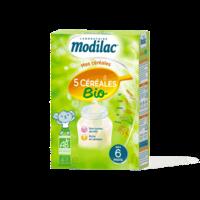 Modilac Céréales Farine 5 Céréales bio à partir de 6 mois B/230g à Trelissac