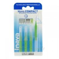 Inava Mono Compact Brossette Extra-large Vert Blister/4 à Trelissac