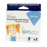 Magnien Elastique Anti-poux B/2