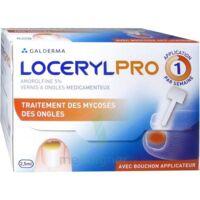 Locerylpro 5 % V Ongles Médicamenteux Fl/2,5ml+spatule+30 Limes+lingettes à Trelissac