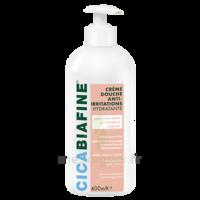 Cicabiafine Crème Douche Anti-irritations Bouteille Fl Pompe/400ml à Trelissac