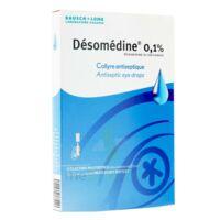 DESOMEDINE 0,1 % Collyre sol 10Fl/0,6ml à Trelissac
