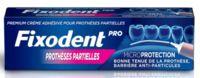 Fixodent Pro Crème Adhésive Pour Prothèse Partielle T/40g à Trelissac