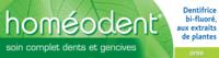 Boiron Homéodent Soin Complet Dents Et Gencives Pâte Dentifrice Anis 2t/75ml à Trelissac
