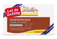Rogé Cavaillès Savon Solide Surgras Extra Doux Fleur De Coton 2x250g à Trelissac