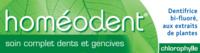 Boiron Homéodent Soin Complet Dents Et Gencives Pâte Dentifrice Chlorophylle 2t/75ml à Trelissac