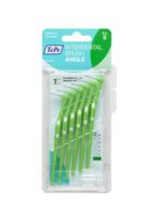 Tepe Brossettes Interdentaires Angle Vert 0.8mm à Trelissac