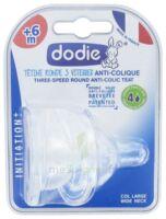 Dodie Initiation+ Tétine 3vitesses Débit4 Silicone Liquide épais B/2 à Trelissac