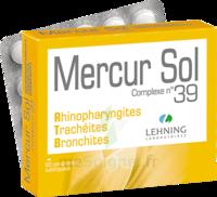 Lehning Mercur Sol Complexe N°39 Comprimés Sublinguals B/60 à Trelissac