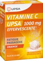 Vitamine C Upsa Effervescente 1000 Mg, Comprimé Effervescent à Trelissac